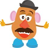Mr._Potato_Head_Base Royalty Free Stock Photo