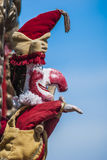 Mr Punch. Traditional British seaside puppet show featuring Mr Punch royalty free stock images