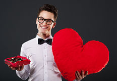 Mr Romantic Stock Image