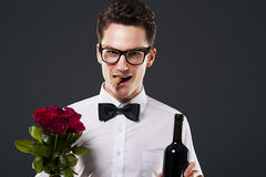 Mr Romantic Royalty Free Stock Photos