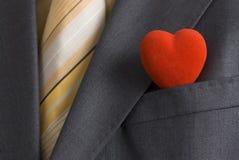 mr s valentin för affärskort Royaltyfri Foto