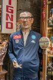 Mr Sarri, coach of Naples soccer team Stock Photo