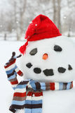 Mr. Snowman Stock Image