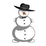 Mr snowman Royalty Free Stock Image