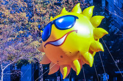 Mr sun inflatable balloon Royalty Free Stock Photography