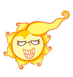 Mr. Sun Shine Stock Photography
