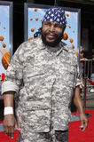Mr. T. At the Los Angeles premiere of 'Cloudy With A Chance Of Meatballs' held at the Mann Village Theater in Westwood, USA on September 12, 2009 royalty free stock photo