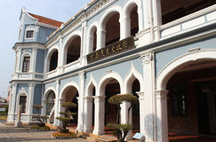 Mr.Tan Kah Kee's Former residence. Is located in Jimei Xiamen, Fujian Province royalty free stock photo
