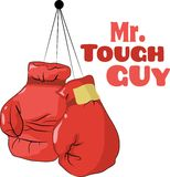 Mr. Tough Guy Royalty Free Stock Photography