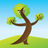 Mr. Tree Royalty Free Stock Image