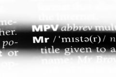 Mr. Word in a dictionary.  concept royalty free stock photography