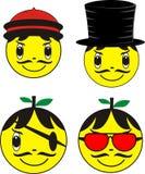 Mr. yellow Royalty Free Stock Photos