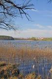 Mragowo, Masuria, Pologne image libre de droits