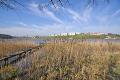 Mragowo, Masuria, Pologne photographie stock