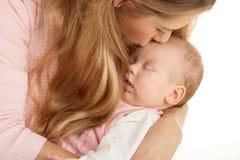 Mère avec l'enfant Image libre de droits