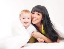 Mère et chéri Photo libre de droits