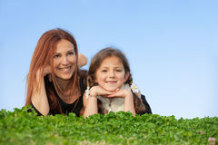 Mère et enfant Photos libres de droits