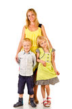 Mère et enfants Image libre de droits