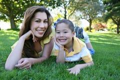 Mère et fils Image stock