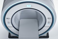Mri扫描机器 皇族释放例证