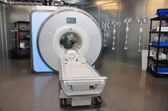 MRI. Machine in a test facility Royalty Free Stock Photos
