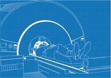 MRI 2 Fotografía de archivo libre de regalías