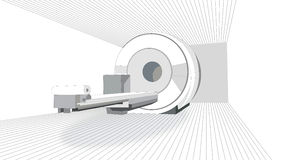 MRI-bildläsare Royaltyfri Fotografi