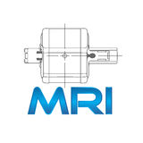MRI concept. With equipment and pacient Royalty Free Stock Photo