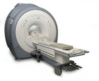 MRI isolated Royalty Free Stock Image