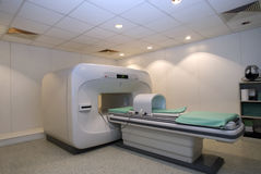 MRI Magnetic resonance imaging, scanner Royalty Free Stock Photography