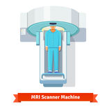 MRI, magnetic resonance imaging scanning patient Royalty Free Stock Photography