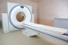 MRI scanner stock photo
