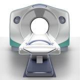 MRI Scanner. Isolated on white background Royalty Free Stock Image