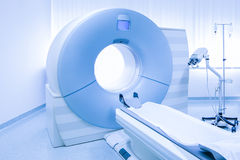 MRi scanner in hospital Royalty Free Stock Photography