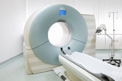 MRi scanner in hospital Stock Image