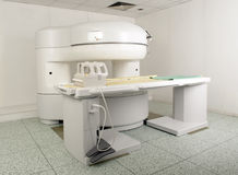 MRI Scanner room Royalty Free Stock Image