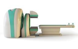 MRI Seitenansicht Stockfotos