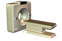 MRI Tomograph Scanner Stock Images
