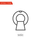 MRI Vector Icon Royalty Free Stock Photo