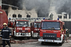 Mriehel Fire Stock Image