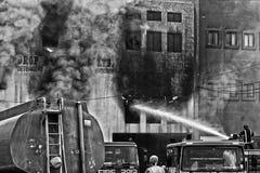Mriehel Fire Royalty Free Stock Image