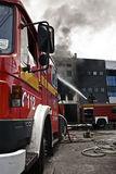 Mriehel Fire Stock Image