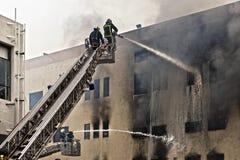 Mriehel Fire Stock Photo