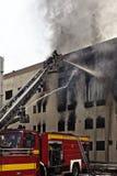 Mriehel Fire Royalty Free Stock Photography