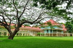Mrigadayavan Palace. Is a former royal residence and tourist attraction in Cha Am, Phetchaburi Province, Thailand Stock Image