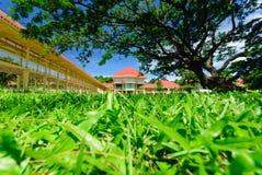 Mrigadayavan Palace. (Marukhathaiyawan), Cha-Am, Thailand Royalty Free Stock Photography