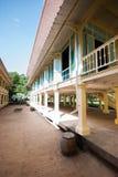 Mrigadayavanpaleis (Marukhathaiyawan), cha-Am, Thailand Royalty-vrije Stock Fotografie