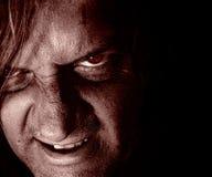 mörk psykopat Royaltyfri Bild