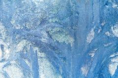 mroźny deseniowy okno tła naturalny piękny kiedy było tła można użyć tematu ilustracyjny zimy Zakończenie Zdjęcie Stock