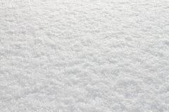 Mroźny dzień opuszczający biały iskrzasty śnieg Zdjęcia Royalty Free